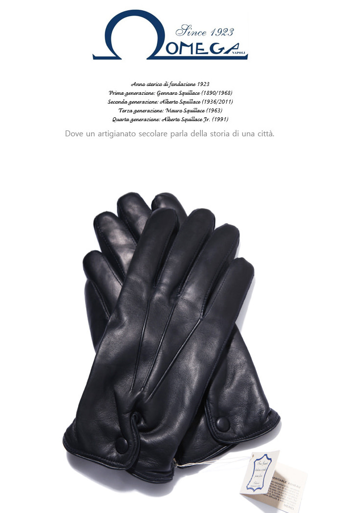 Take318 italy Omega Gloves/black-극소량 한정판