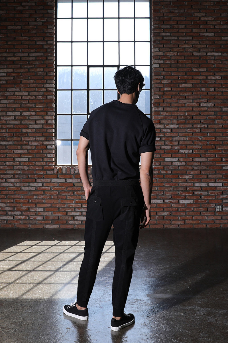 EJIOFOR JOGGERS PANTS-BLACK수입소량한정제품!