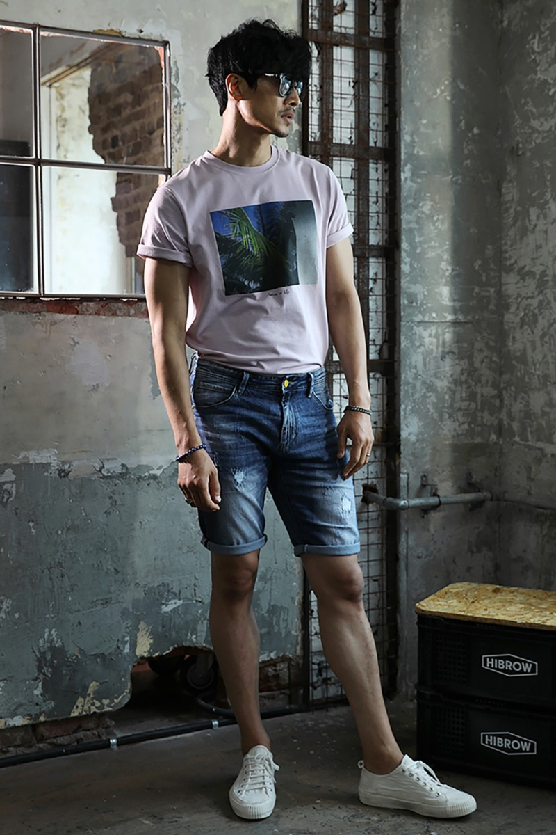 PORTMAN ROUND T-SHIRT-2COLOR수입한정제품