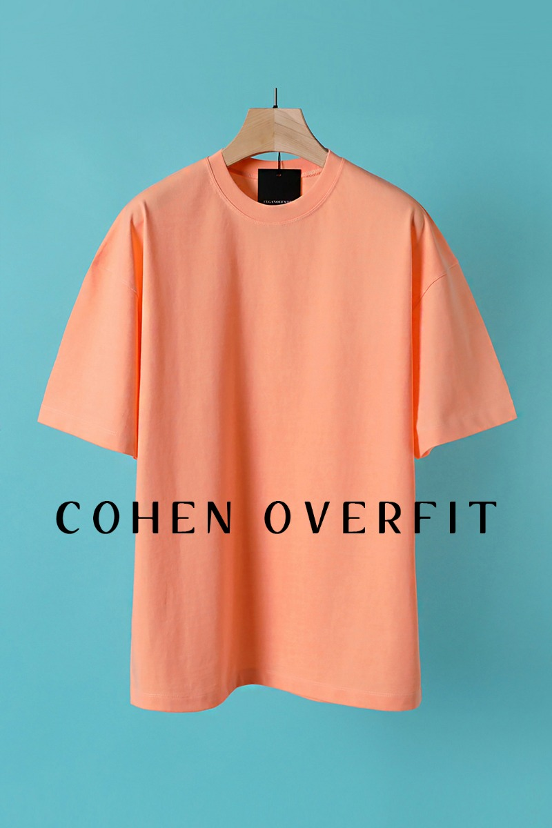 COHEN OVERFIT T-SHIRT-10COLOR