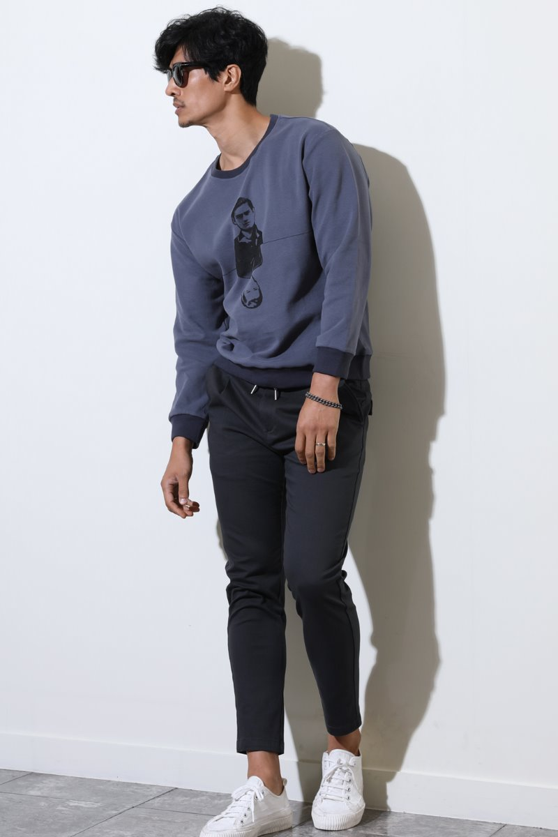 Beals Slim Banding Pants-3color수입한정제품
