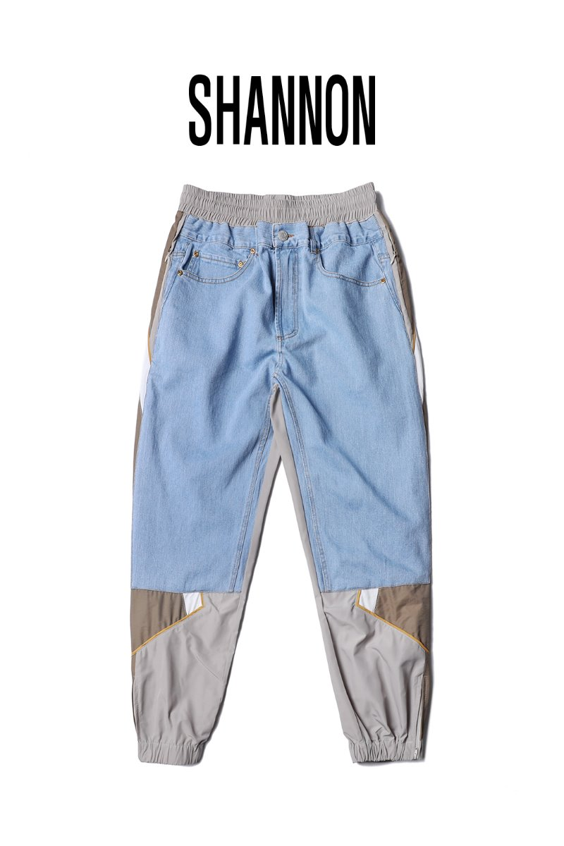 Shannon Denim Pants-Blue수입한정제품
