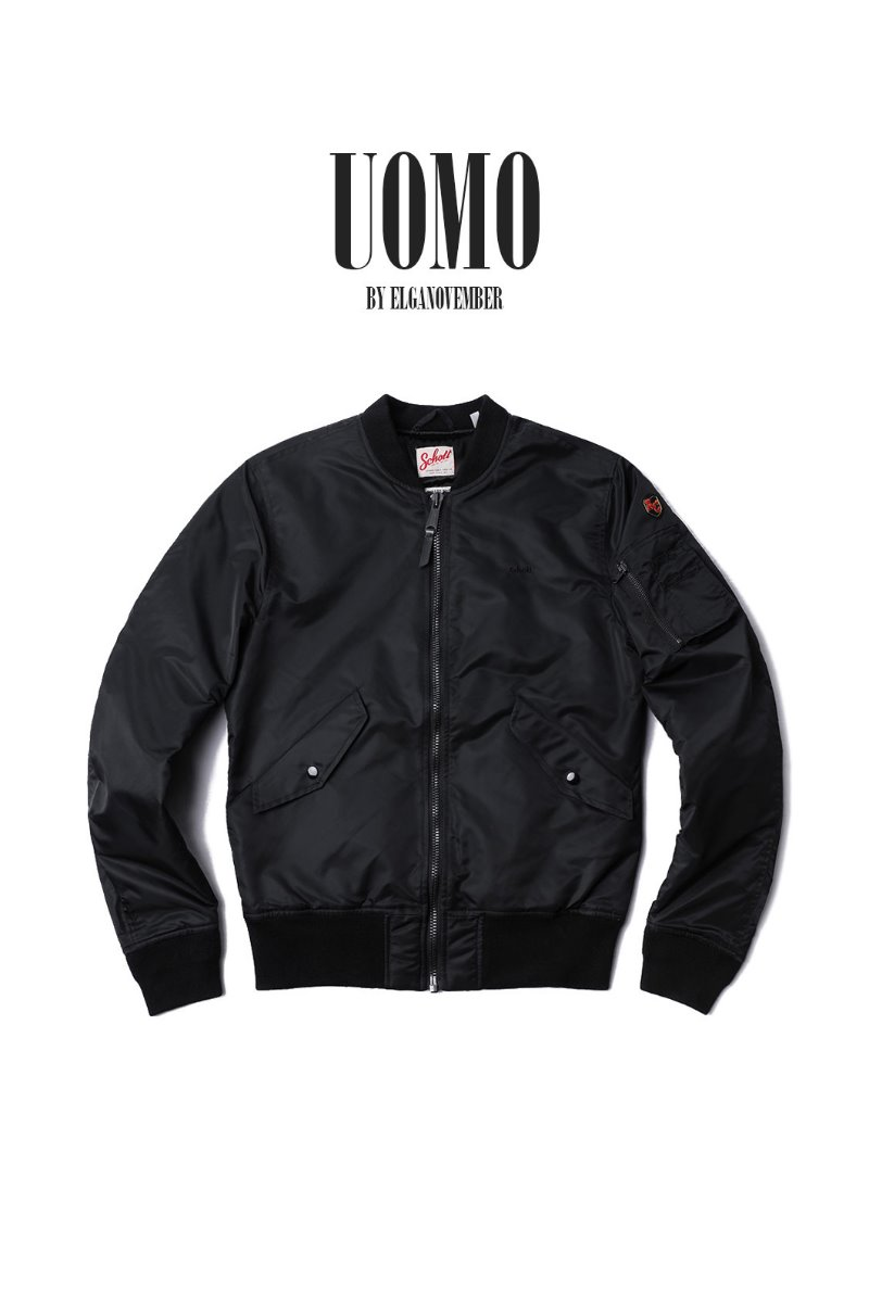 SCHOTT N.Y.C MA-1 BOMBER JACKET-4COLOR[X-American College]-2019FW 마지막수량입고!!