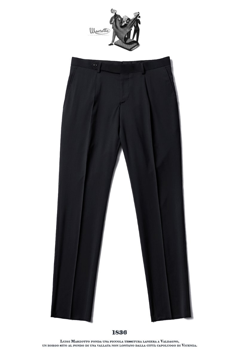 TAKE492 ITALY MARZOTTO VOLUME SLACKS PANTS-BLACK품절임박-가을시즌 추천 슬렉스!!