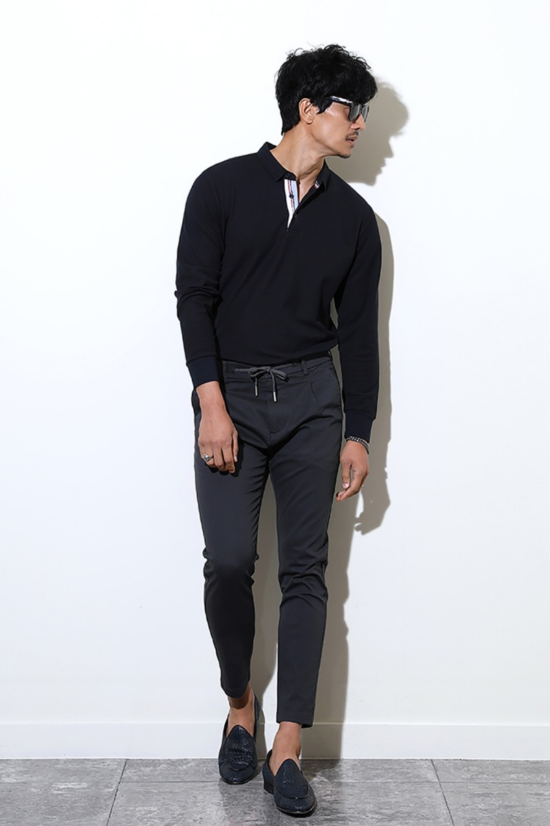 AQUINO COLLAR T-SHIRT-3COLOR수입한정제품