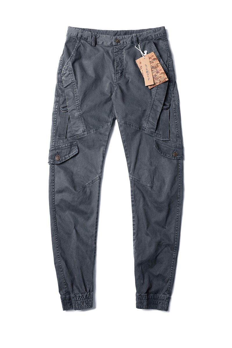 BHASKAR SLIM CARGO PANTS-2COLOR수입한정제품-블랙세일 EVENT