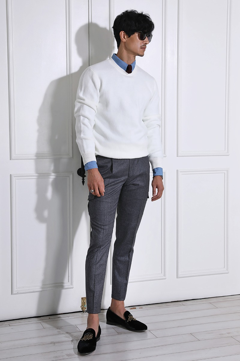 ARTHUR ROUND KNIT-3COLOR수입한정제품