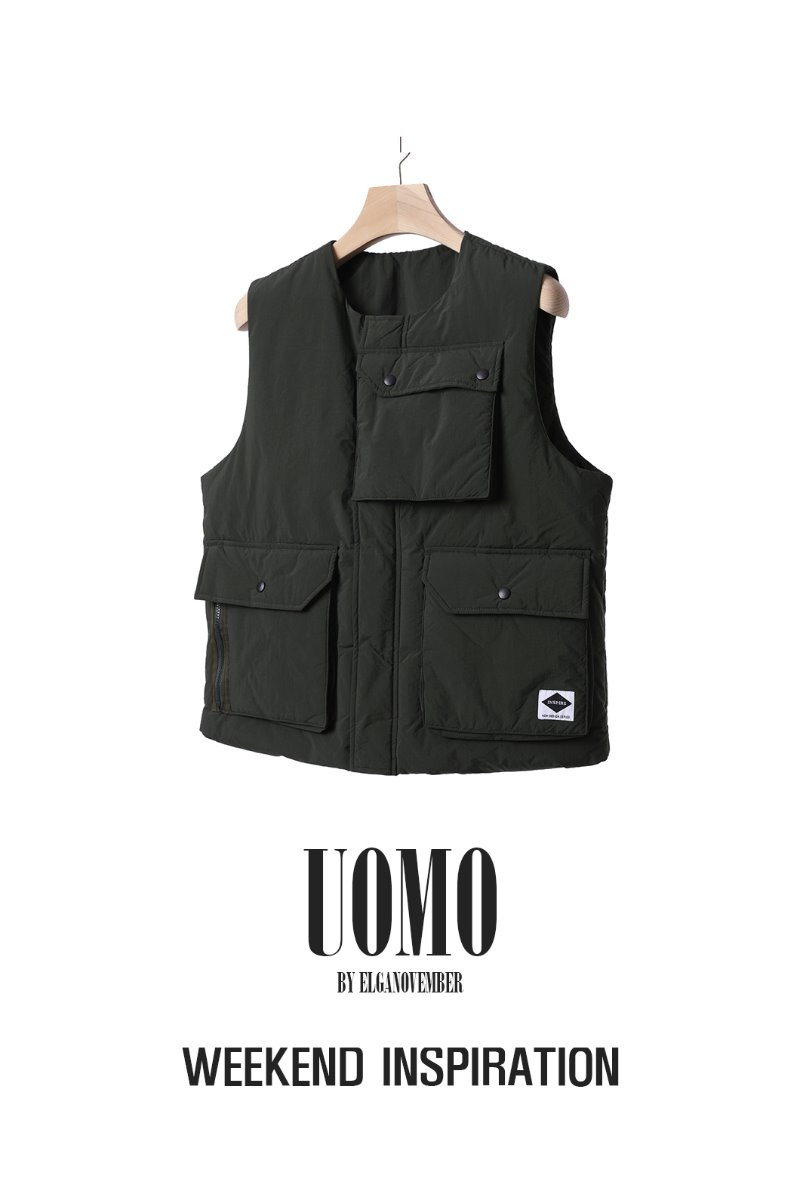 LUMBLY PADDING VEST-2COLOR소량 입고