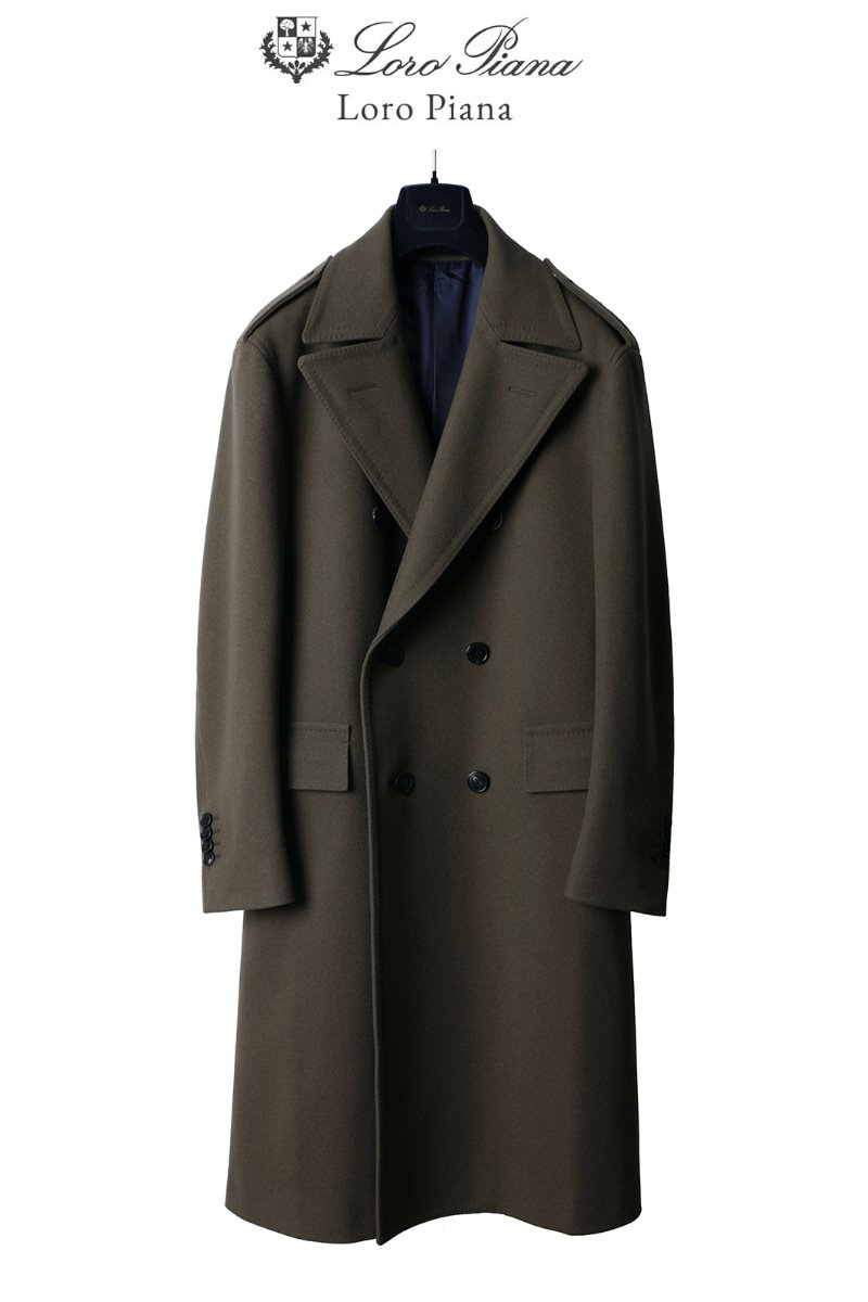 TAKE516 LOROPIANA COMMAND COAT-OLIVE