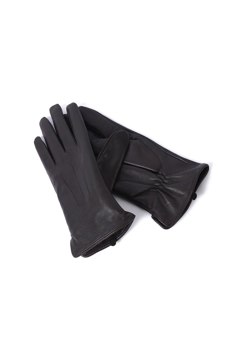 SHEEP SKIN REAL LEATHER GLOVE-2COLOR