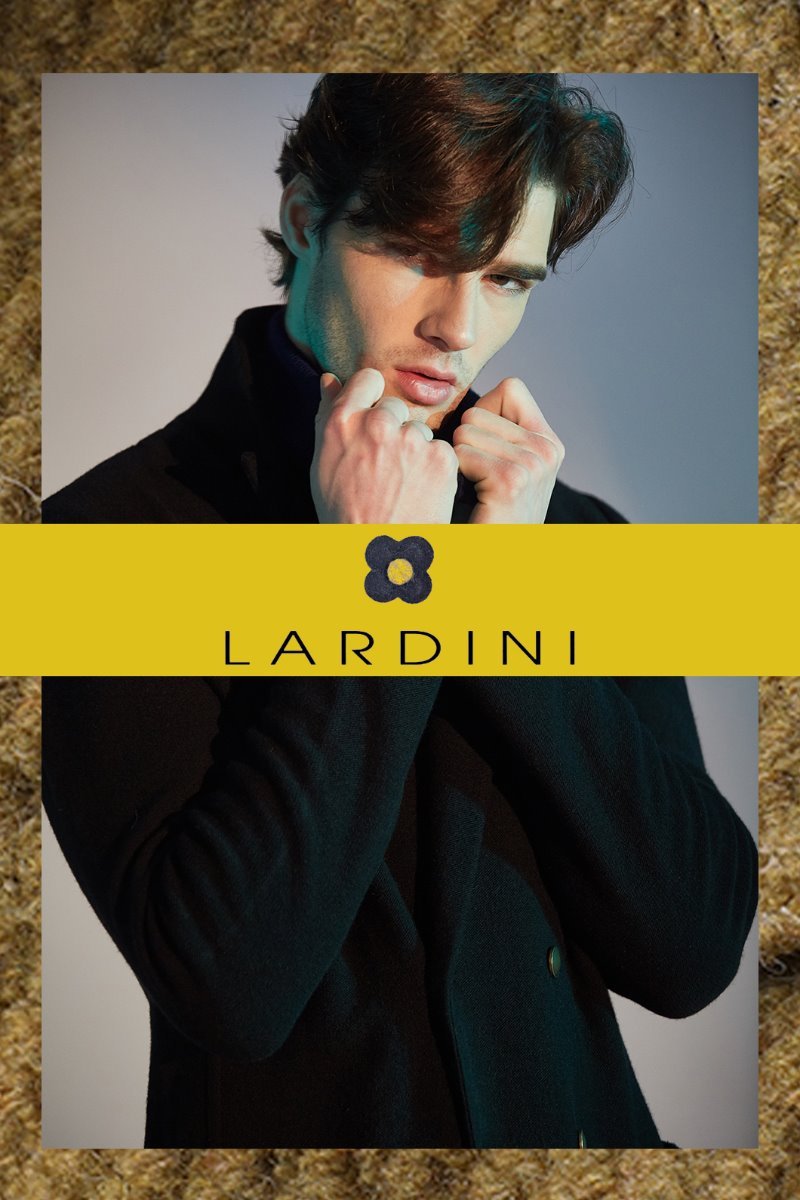 Lardini Gold Double Knit Jacket-Black[ITALY-Original]-극소량 한정!