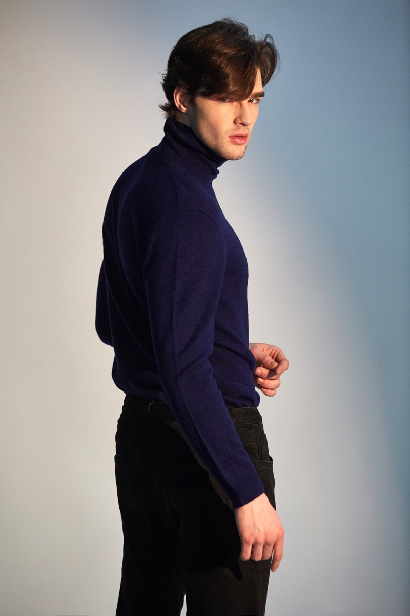 BUNEL TURTLENECK KNIT-2COLOR