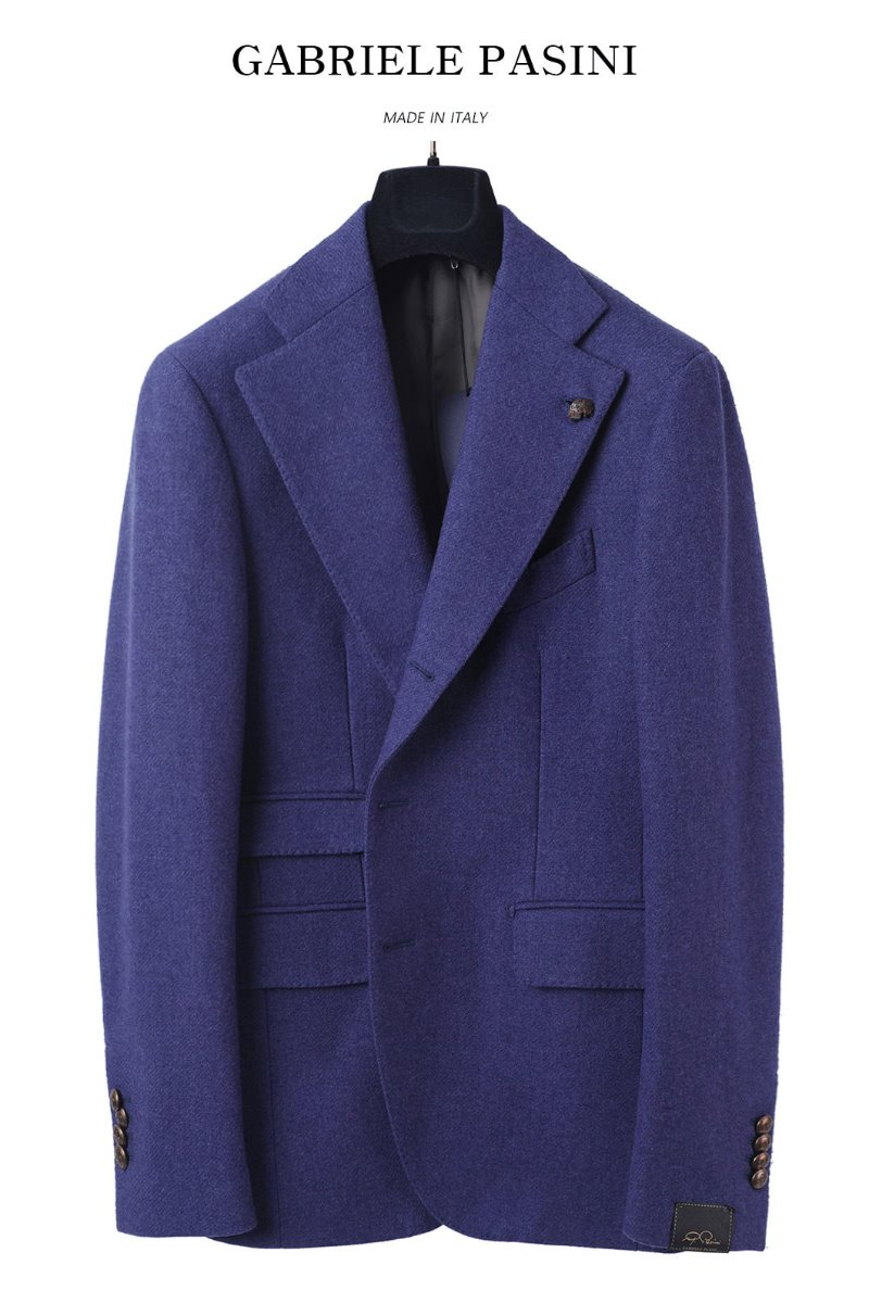 PASINI Breasted Jacket/Pastel Violet