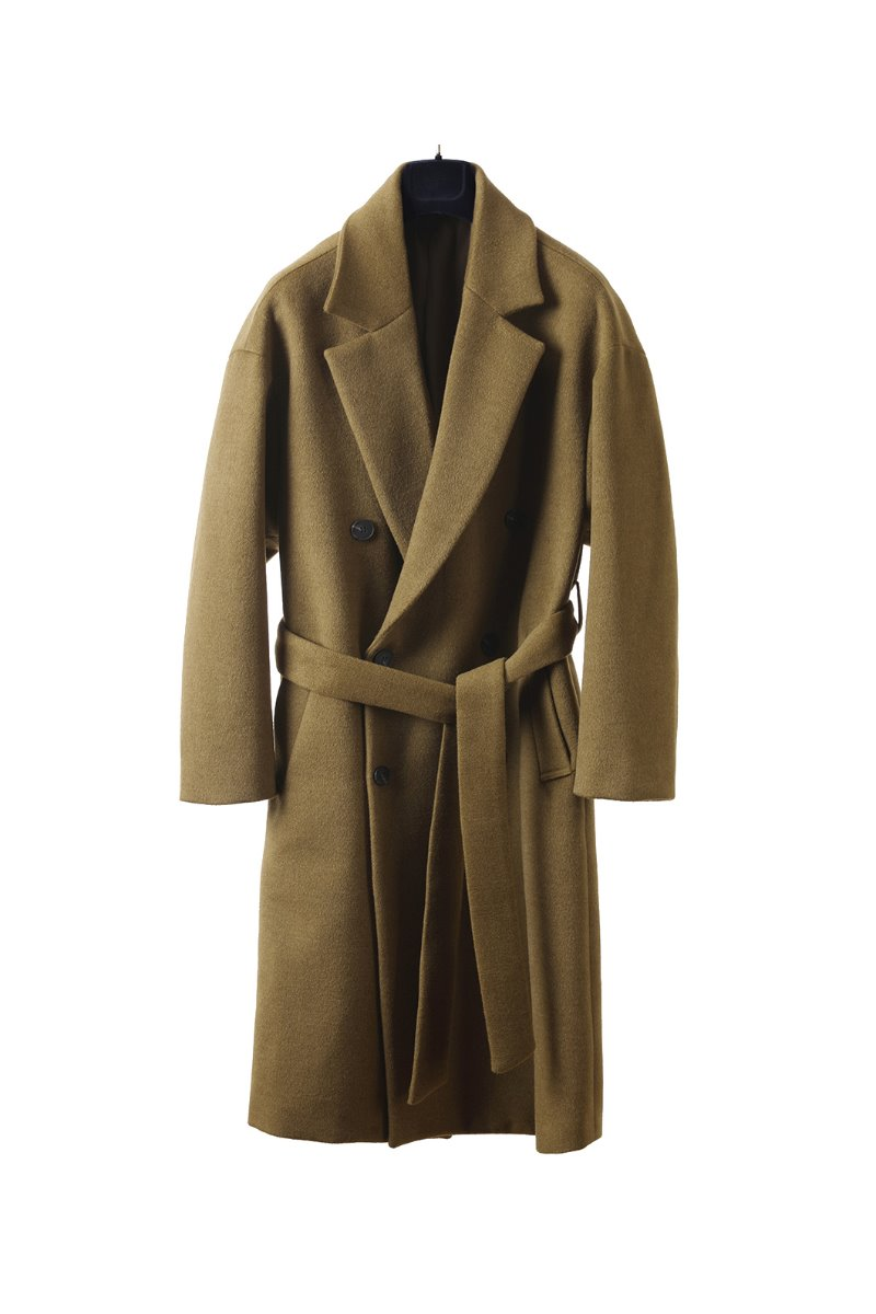 BOYEGA DOUBLE ROBE COAT-4COLOR마지막 수량 할인