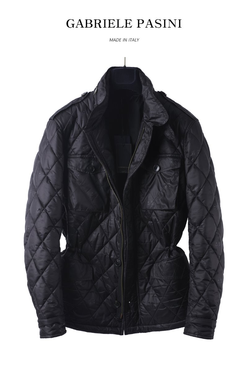 PASINI BLACK HUNTING JACKET