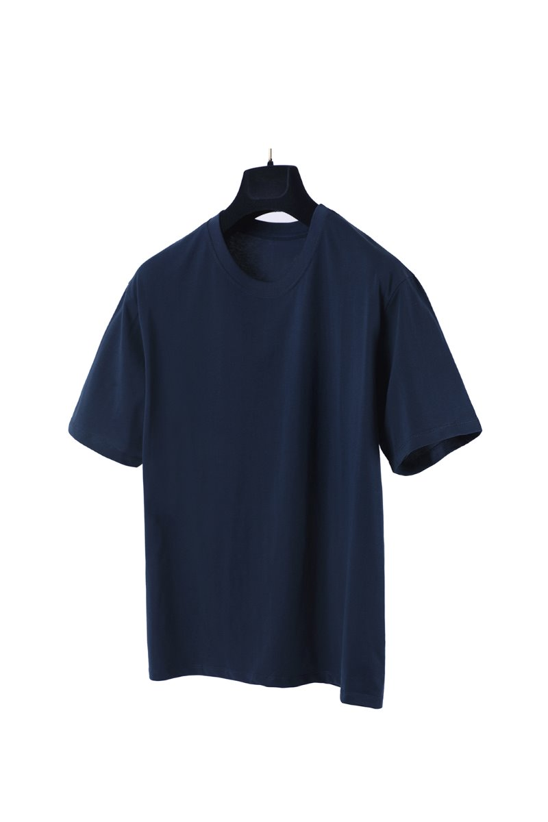 04 BASIC T-SHIRTS- NAVY수입한정모델