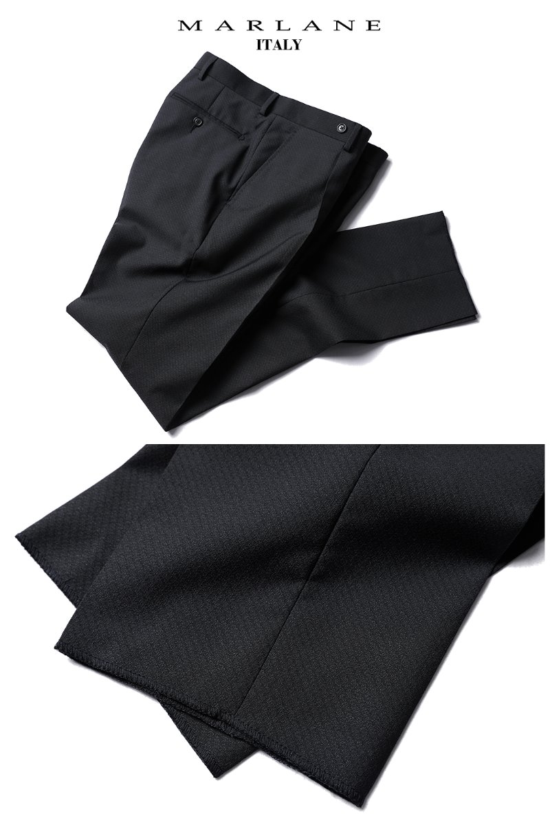 486 ITALY MARLANE ONE TUCK SLACKS PANTS-CHARCOAL품절임박!