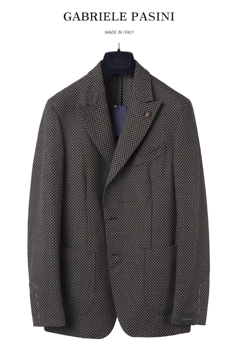 PASINI  FILO BREASTED JACKET