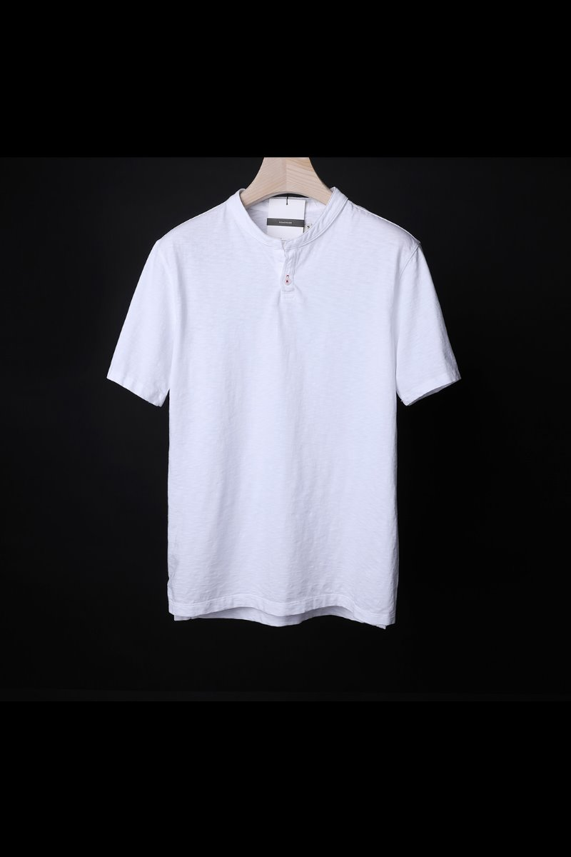 JOAQUIN ONE BUTTON T-SHIRT-2COLOR