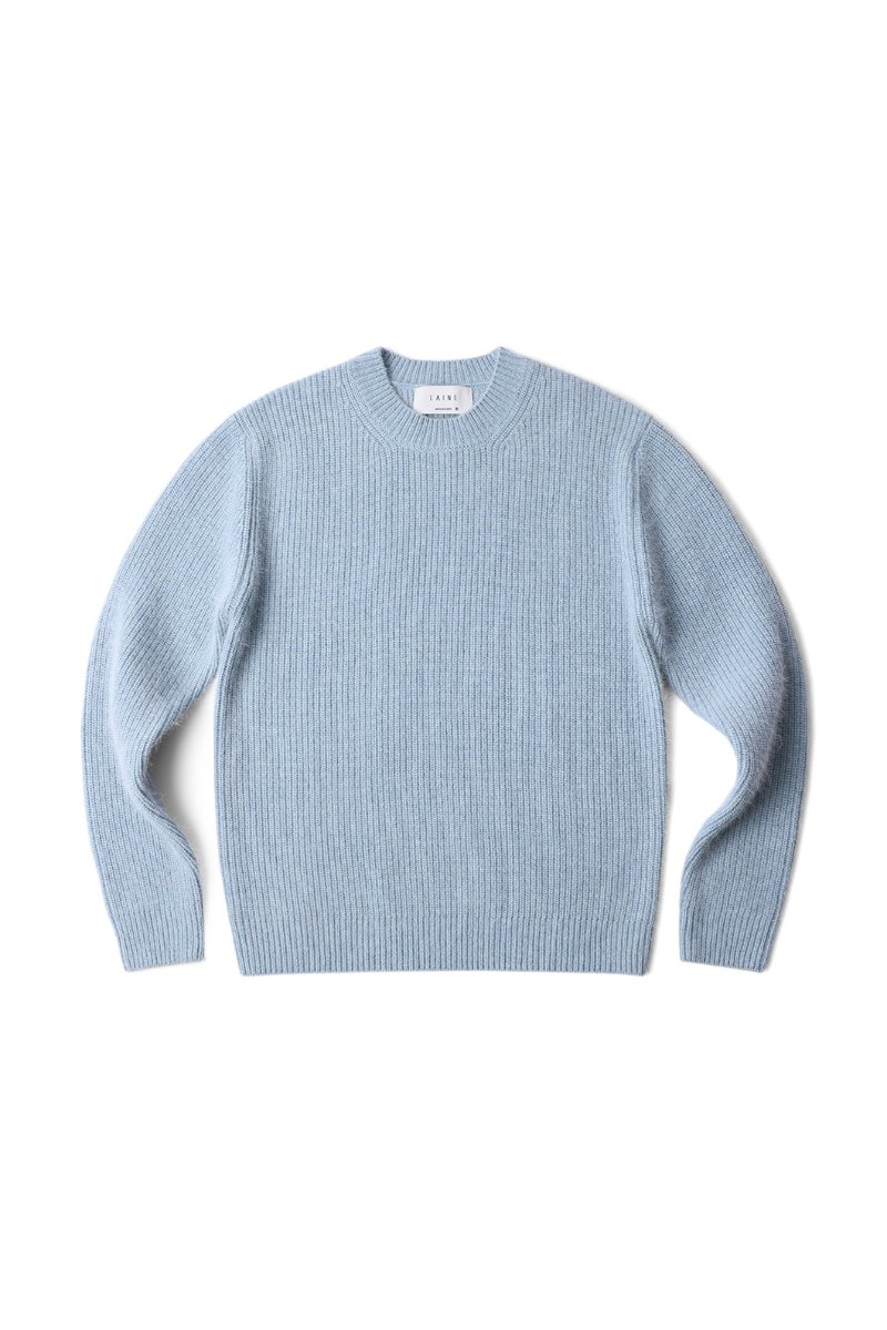 MERINO ANGORA ROUND KNIT-8COLOR마지막수량 할인