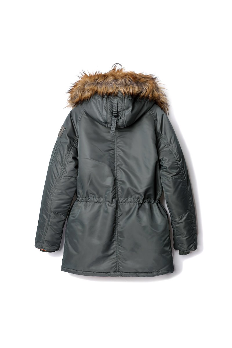 X-N3B BASIC PADDING COAT-2COLOR