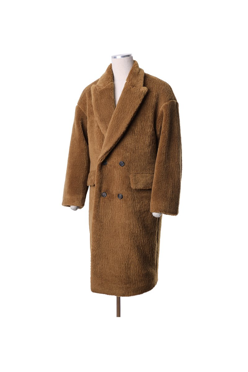 BONISH DUMBLE LONG COAT-3COLOR
