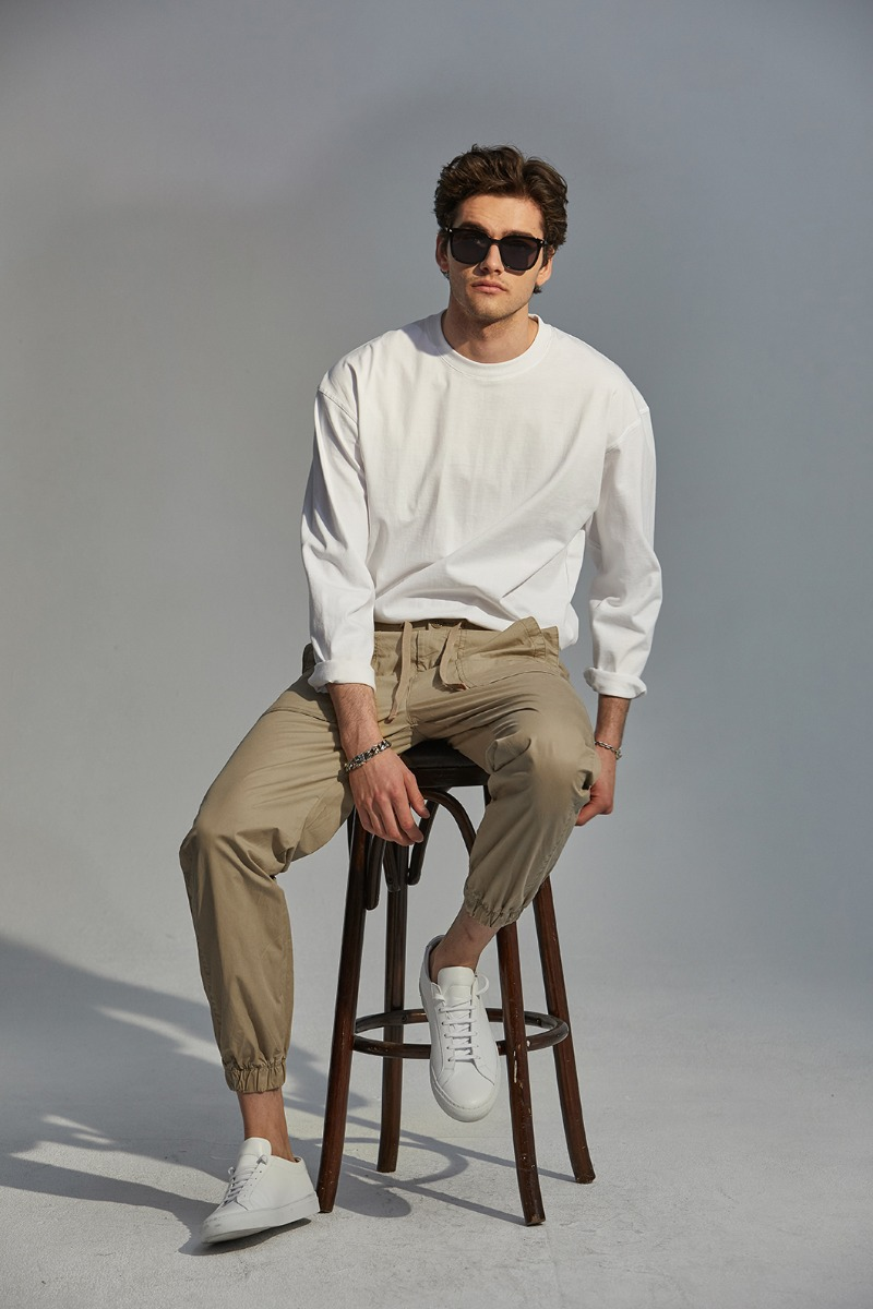 MRT0282 BANDING JOGGER PANTS-2COLOR수입한정모델