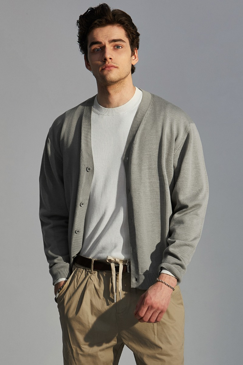 STANDARD CARDIGAN-10COLOR