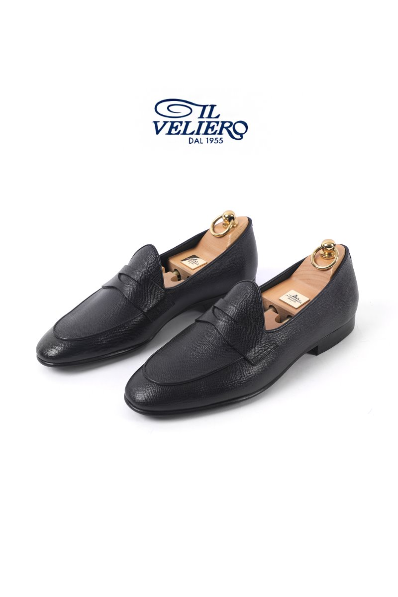 524 Artisan ITALY ILVELIERO Shoes-Black