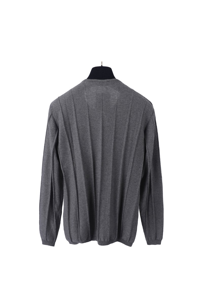 AAINT59 COLUMN KNIT-GREY