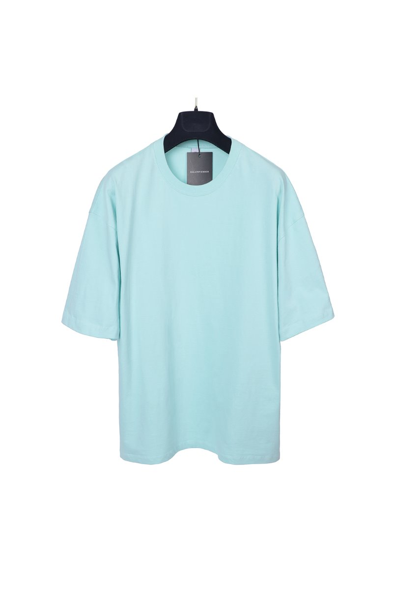 MELANS ROUND OVERFIT T-SHIRTS-10COLOR