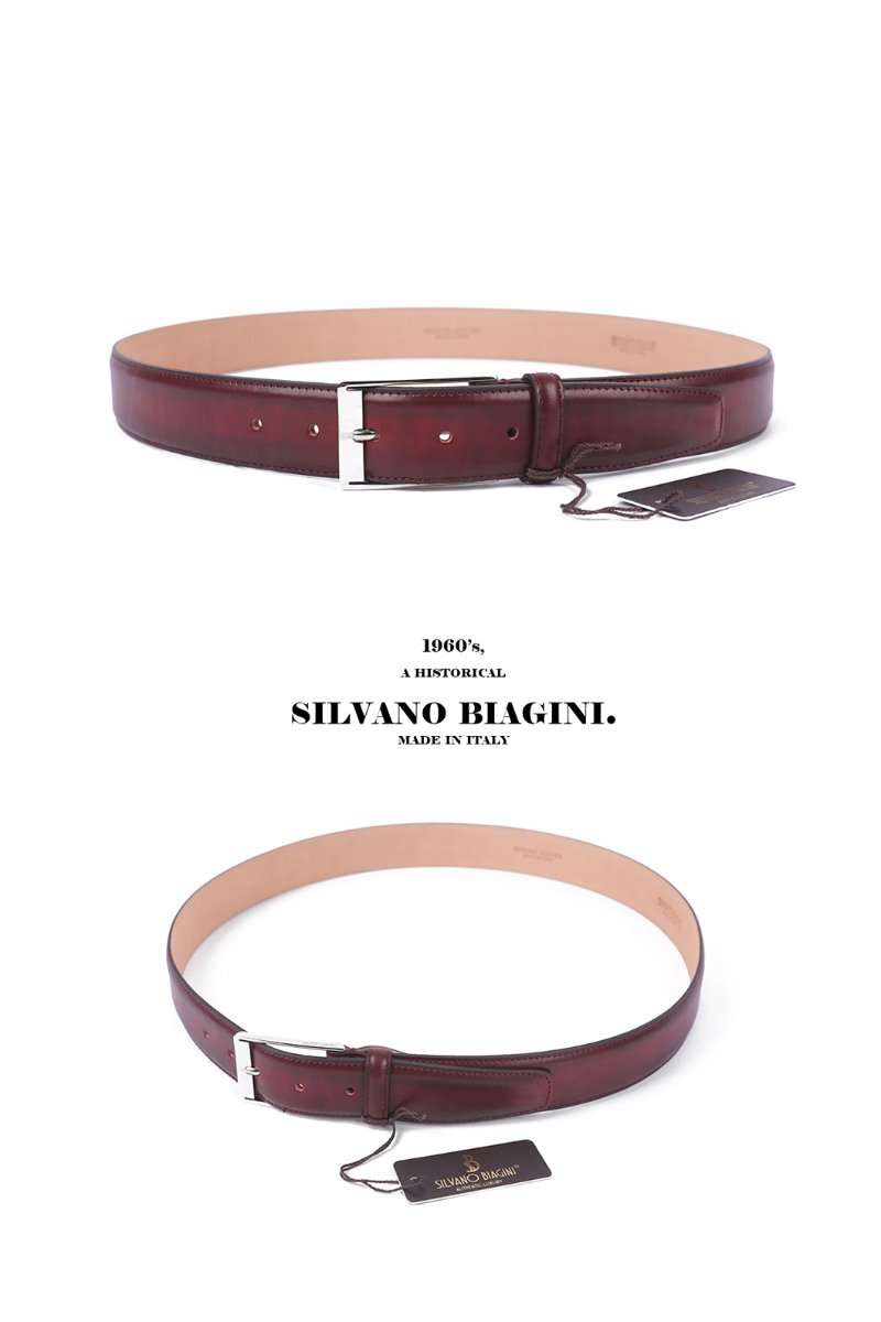 SILVANO BIAGINI COWE BELT-RED