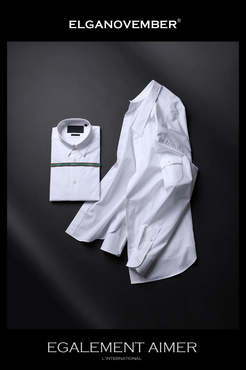 483 ITALIA A&C SIDE POCKET SHIRT-WHITE품절임박-주간베스트!