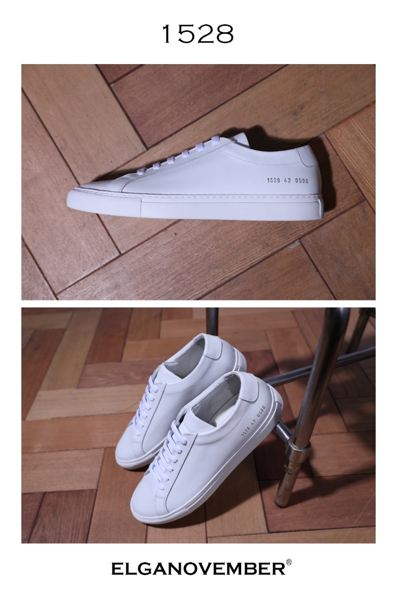 A-1 White Low Sneakers/White-Best Seller!!  42(270~275) size 당일 발송!