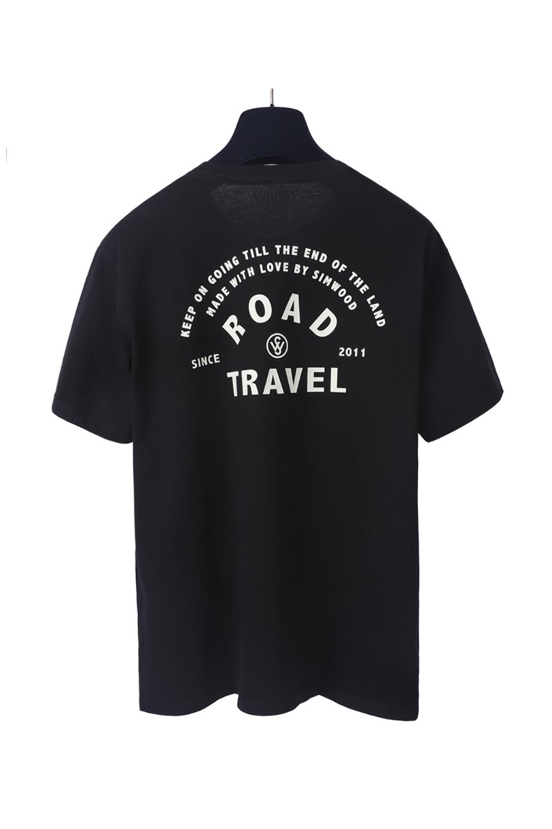 R.T JEEP T-SHIRTS-BLACK