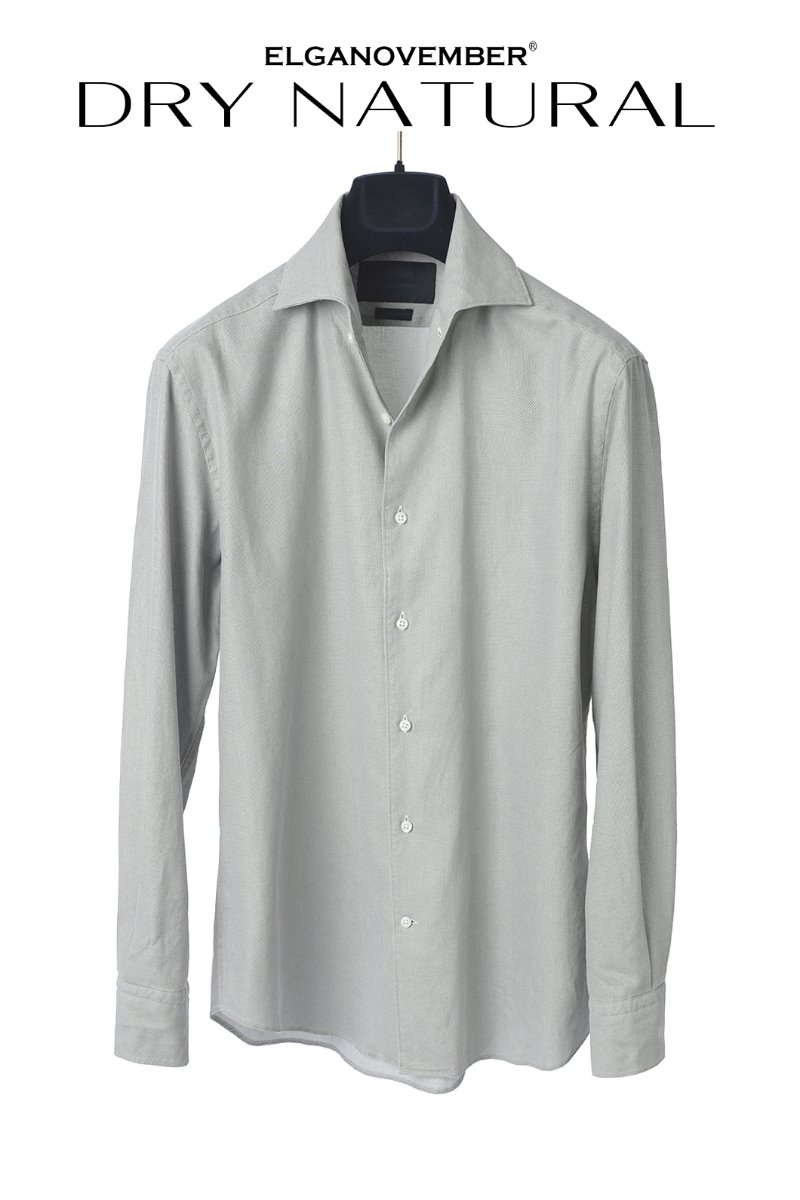 535 ITALIA ONE-PIECE COLLAR SHIRT-DRY KHAKISUMMER-품절임박