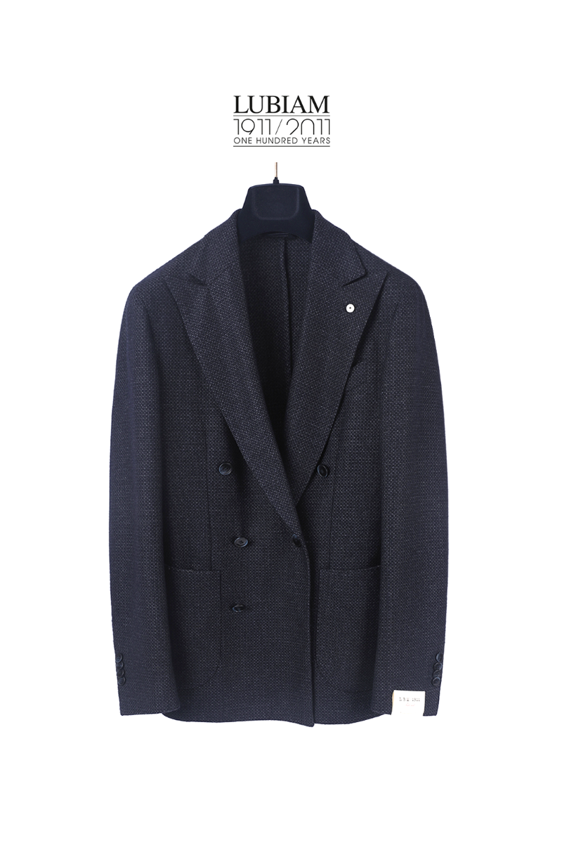 LUBIAM Bird eye Jacket-Navy