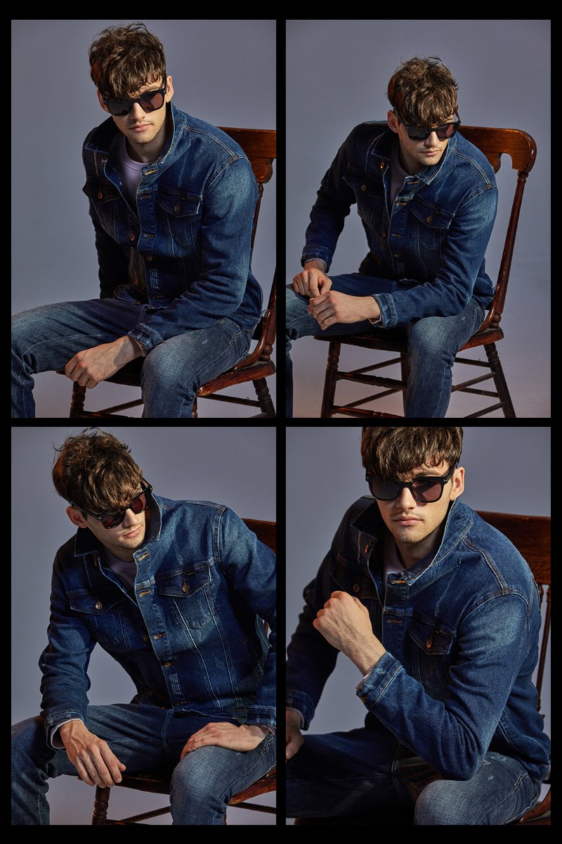 BLUE 530 DENIM JACKET-BLUE
