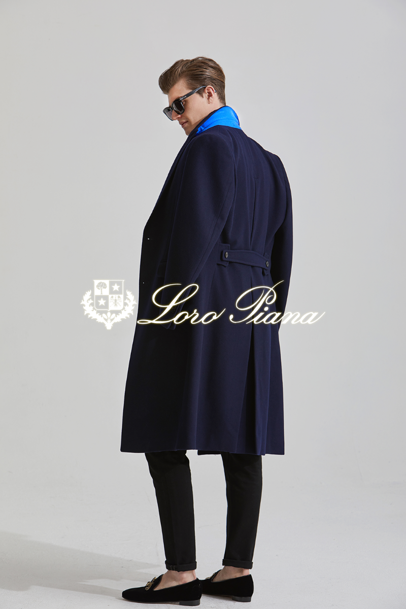 556 LOROPIANA SINGLE COAT-NAVYLIMITED EDITION-2/3 이상 판매완료-M,XXL 품절임박