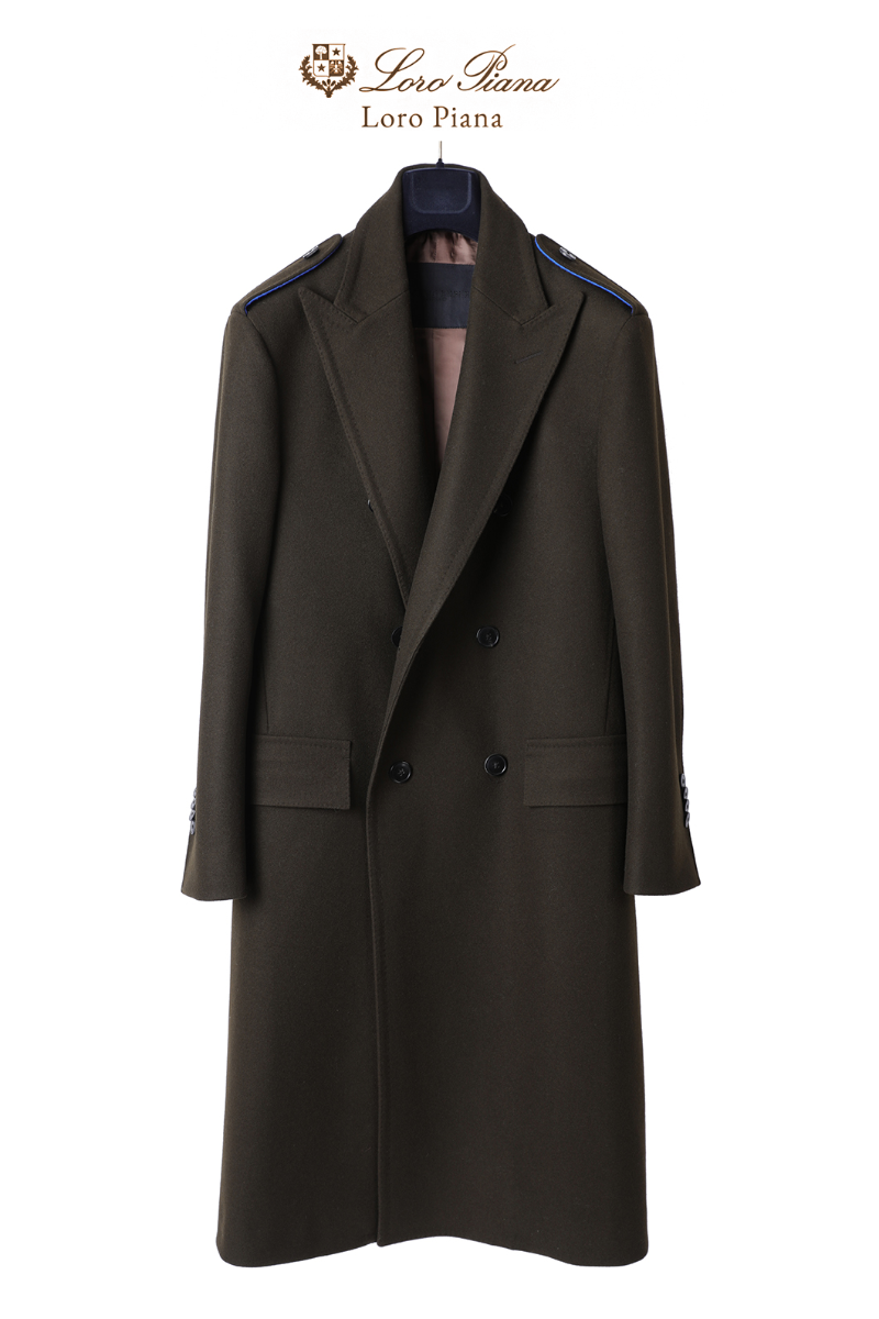 557 LOROPIANA DOUBLE COAT-KHAKI BROWNLIMITED EDITION-1/2 이상 판매완료