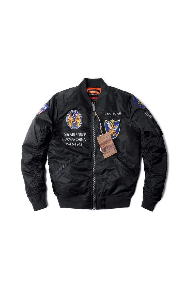 N.Y.C FLYING TENTH Padding MA-1 JACKET소량 재입고