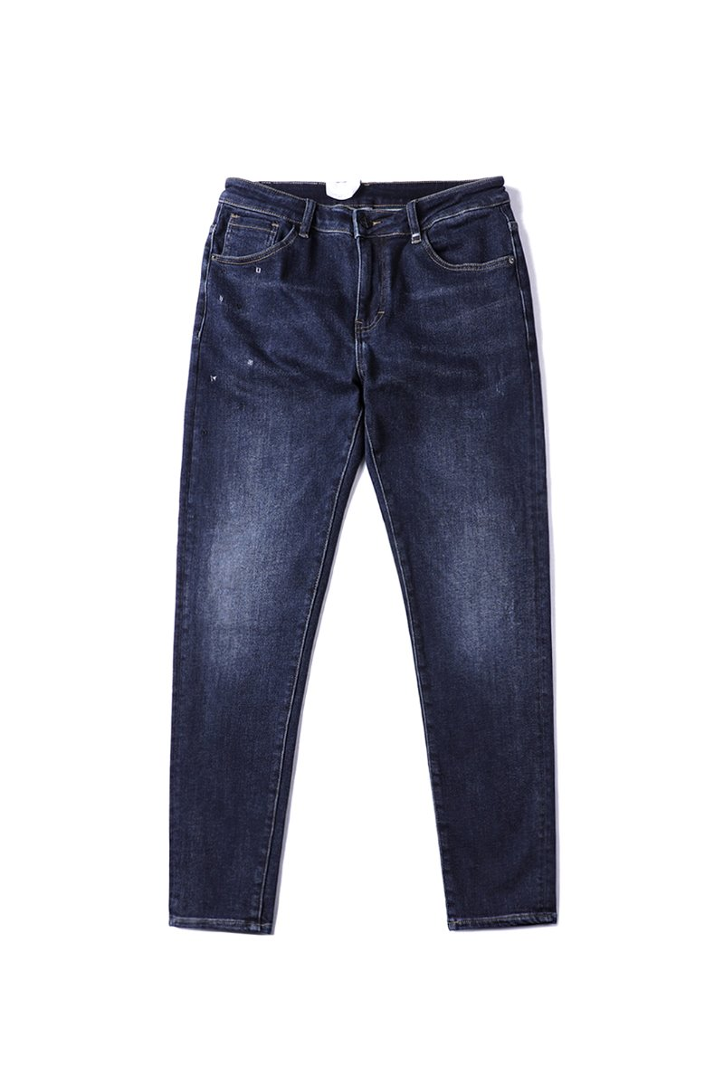 Winter56 Deep blue jeans