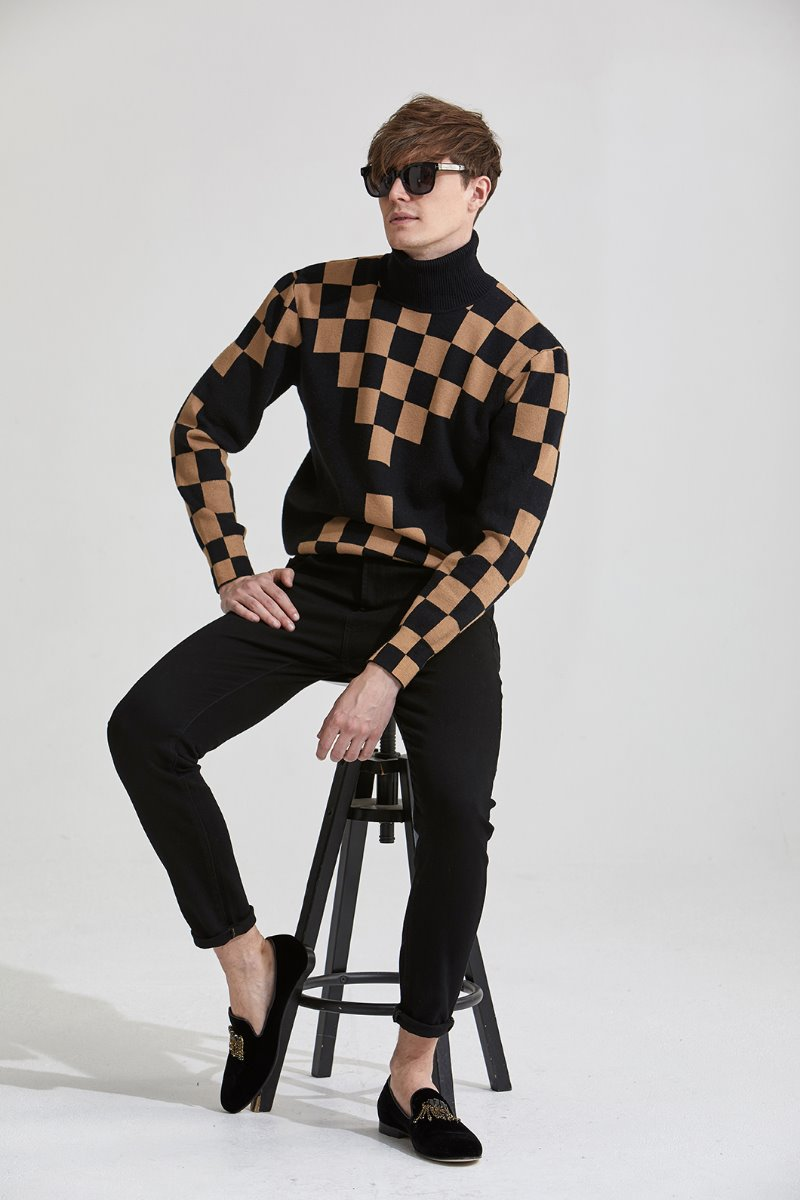 MONO SQUARE POLO NECK