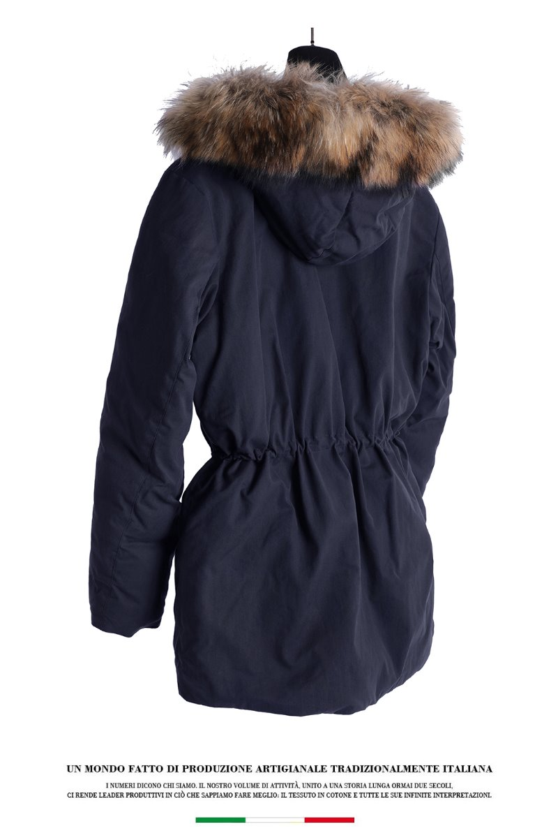Raccoon M.Padding Jacket- Down Navy