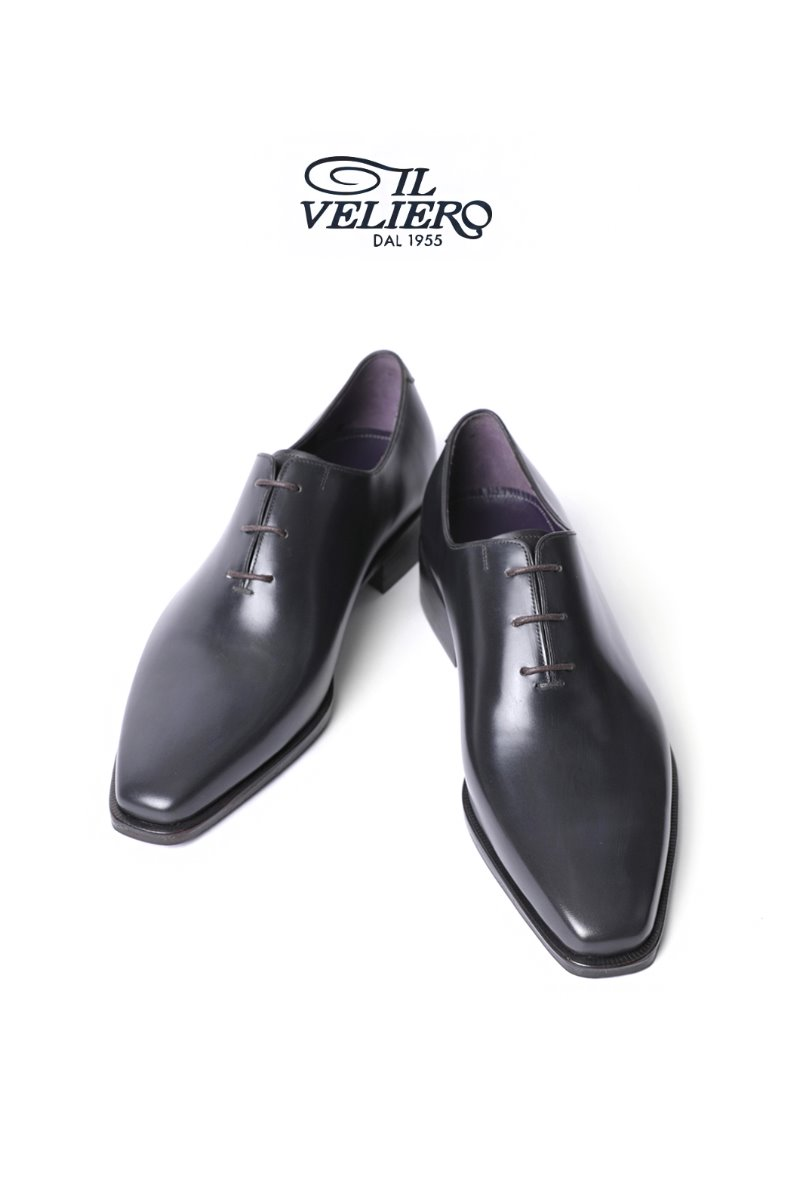 563 Artisan ITALY ILVELIERO Plain Toe Shoes-Dark Gray 7 (255size) 당일발송 !!