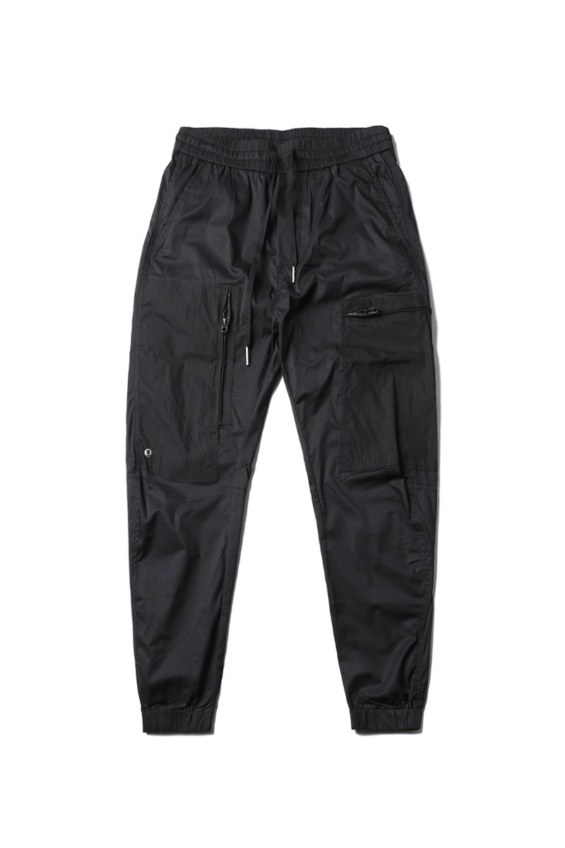 Mentor Zip Joggers Pants-Black베스트셀러-2차 재입고