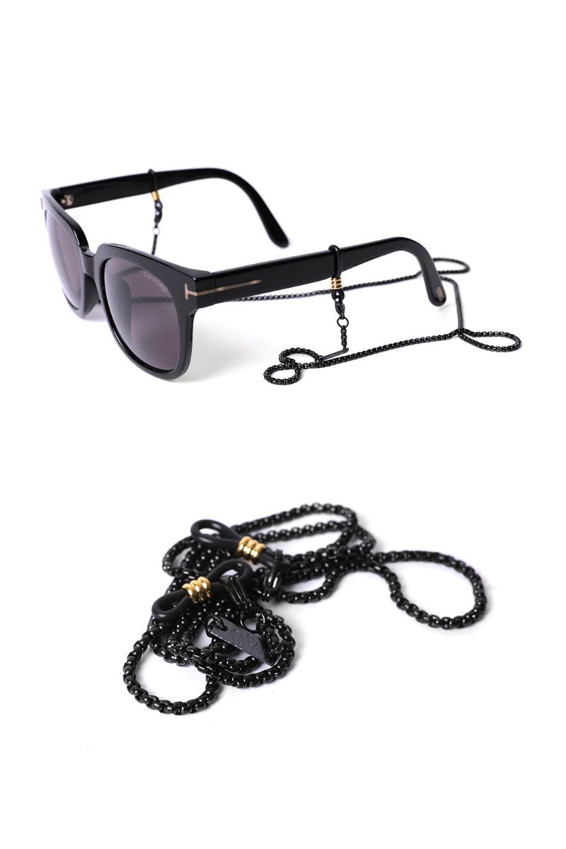 S.C SYDNEY Mask& Glasses chain-Black한정수량