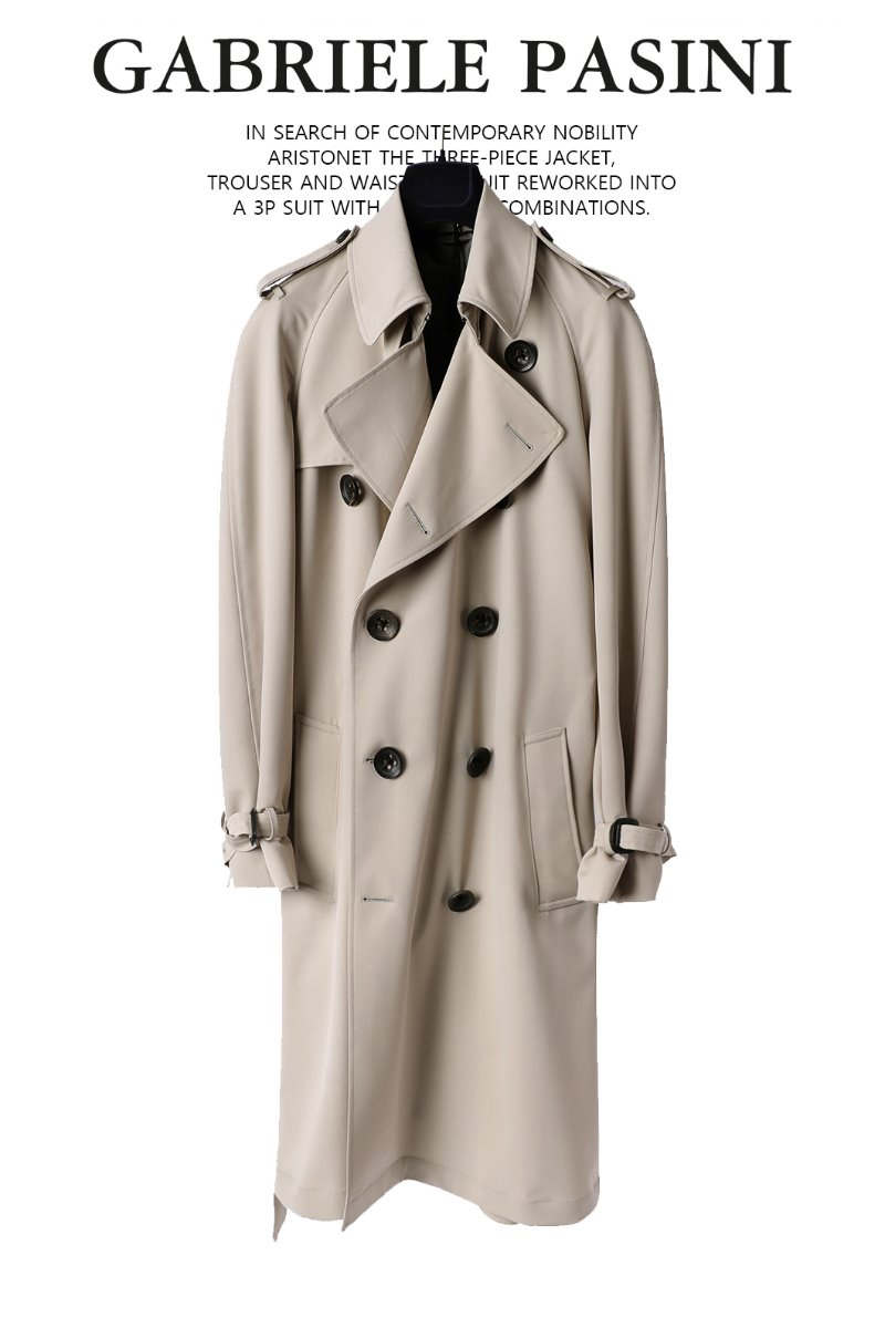 PASINI Layvin Double Trench Coat