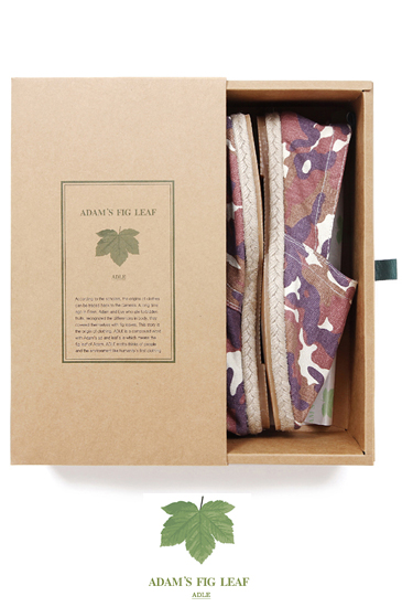 Adams Fig Leaf Camo Espadrille/Pink[남녀공용]