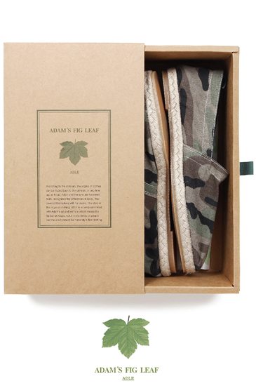 Adams Fig Leaf Camo Espadrille/Khaki[남녀공용]